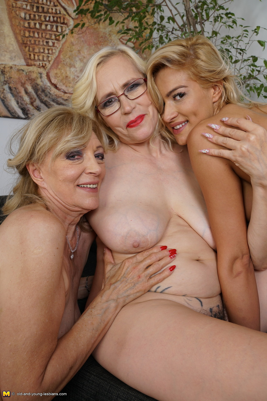 Old Dominate Young Lesbians